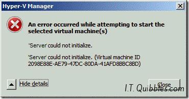 hyper_could_not_start